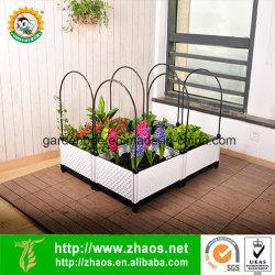 Пластиковый многофункциональных поднял сад кровать для дома садоводство