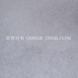 Polyester waschbare trockene waschbare einzelne PUNKT Doppeltes PUNKT thermische Nylonmasseverbindung-nichtgewebtes schmelzbares Zwischenzeilig schreiben