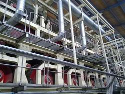 Liner Kraft Brown Testliner المموج الكرتون تغليف المرحاض نابكين الورق آلات صنع