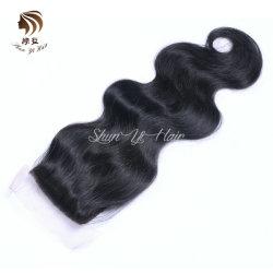 Schliessen-Karosserien-Wellen-indisches Jungfrau-Haar der Spitze-9A