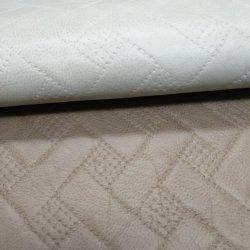 Streep Quilt Faux Synthetisch Pu Leer Voor Bank/Quilt/Verpakking -Stripe