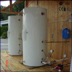 2016 Druckbeaufschlagt Getrennt Edelstahl Solar Water Tank