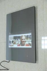 Zet de Heldere LEIDENE van het Toilet van Dedi AchterMuur van de Verlichting LEIDENE Magische Spiegel met de Vertoning van de Datum op