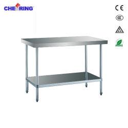 Torcendo Cozinha em aço inoxidável de montagem comercial de superfície