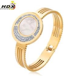Браслет из нержавеющей стали с высокими требованиями, Bangles алмазов, модные украшения (HDX1008)