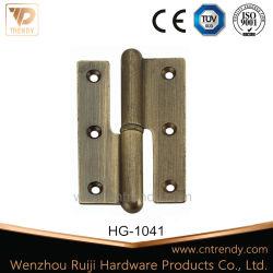 Résidentiel en laiton de charnière de porte avec broche desserré (HG-1041)