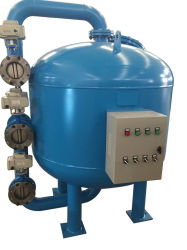 Filtro de arena de alta resistencia a la presión del filtro de agua del depósito