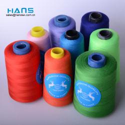 Hans de gros chantiers 5000 bon marché 40/2 100% polyester tissée de fils à coudre Thread Marques Prix