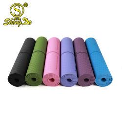 Antiderrapagem Exercício Fitness Academia Home espuma TPE Tapete de Yoga