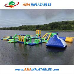 Brinquedos de praia insuflável Aqua Equipamentos parque aquático com piscina