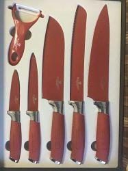 6pcs con cuchillas con la pintura nº kn6-P02