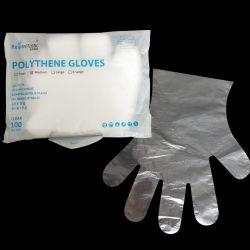 Fabricant Prix chambre de bonne qualité maintenir PE des gants jetables en plastique