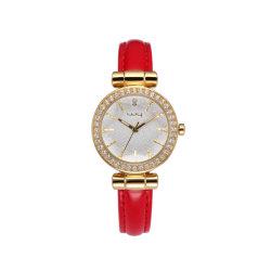 Таким образом дамы украшения личности Тонкий ремень камня набор часы Wy-008