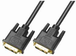 Câble DVI Single Link 18+1 mâle vers mâle 18+1 DVI