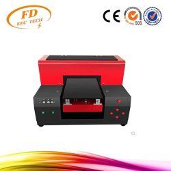 2018 Gold поставщик 6 цветной струйной печати УФ-принтер формата A4 со светодиодной тиснение (emboss) воздействие поля для гольфа планшетный УФ принтер для телефона, ФУТБОЛКА, кожа, TPU