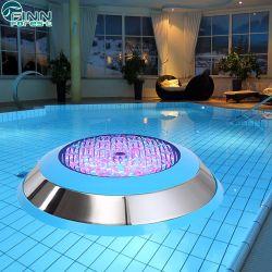 حوض سباحة بإضاءة تحت الماء LED 12 فولت 12 واط مثبّت على الحائط خفيف