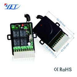Sin embargo CC12V-30V Secure 315MHz 433MHz Transmisor inalámbrico receptor remoto para el abridor de puerta de garaje