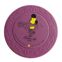 La cuvette de silicone de haute qualité Coaster pour cadeaux promotionnels (YB-N-003)