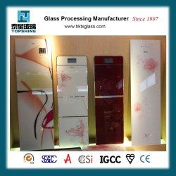 Imprimé personnalisé de haute qualité pour le réfrigérateur de porte en verre trempé