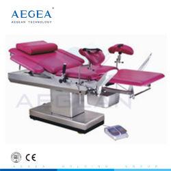 AG-C102b Paciente do sexo feminino a sala de parto Análise Clínica Operacional Electric Mesa ginecológica para o Hospital