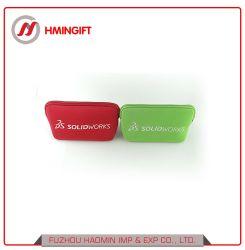 Пользовательские цвета Soild акции косметический мешок неопреновый чехол