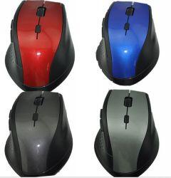 Qualidade elevada 2.4G silenciosa sem fio Mouse dpi até 1600 6D mouse optico