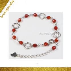 Armband van de Juwelen van de Halfedelsteen van de Juwelen van de manier de Verguld Imitatie voor Dames