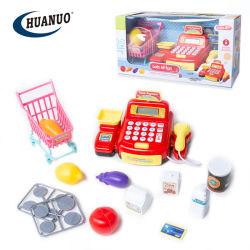 Commerce de gros Play House jouets Panier et de l'ensemble registre de trésorerie pour les enfants