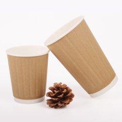 Ventilateur de l'éco promotionnel de gros de la coupe du papier imprimé le logo personnalisé OEM personnalisé mur point café de style caractéristique de conception des PC d'aliments de couleur