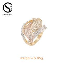 Las mujeres Vintage joyas chapado en oro 18K Anillo personalizado