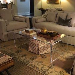 Mesa de acrílico caliente/Transparente Tocadores/acrílico/tabla decorativos muebles