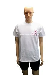 Силы белого хлопка обычная T рубашки с логотипом печати