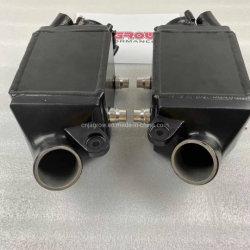 El rendimiento de alto rendimiento Jagrow doble intercambiador de enfriador de aire para BMW M5, F10 F13 M6