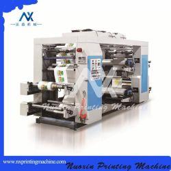 Четыре цвета OPP/Pet/пленки PE/Flexographic бумаги печатной машины