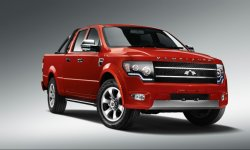 China Best Sinomach 4 Wheel Drive Pickup Car of Gasoline