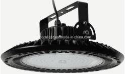 회전식 U 브래킷 조광 가능 하이베이 100W/150W/200W 벽면 장착 LED UFO 하이 베이 조명