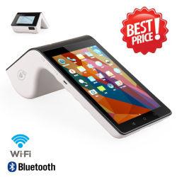 POS van de Tablet van de Lezer van GPRS 4G WiFi NFC Androïde Slimme Handbediende Mobiele Terminal met Printer