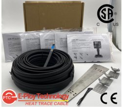 3W 5W 8W 10W Pre-Assembled Résidence Protection contre le gel du tuyau de câble de chauffage par la limitation de ce homologué CSA Autoréglementation