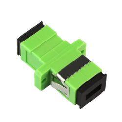 APC SC monomodo Simplex Adaptador de fibra óptica del conector de fibra óptica de China fabricante
