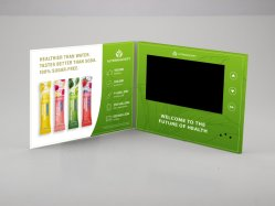 """2.4, 4.3"""", de 5"""", 7"""", 10,1"""" pulgadas de pantalla TFT LCD Reproductor de vídeo DIY grabable Tarjeta de felicitación"""