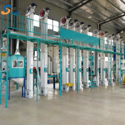 Hochwertige 30 Ton Pro Tag Reismühle Maschine