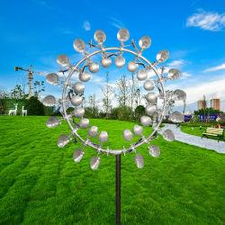 2021 Precio barato Jardín al aire libre jugando Palos el arte abstracto la energía cinética del viento la escultura a la venta
