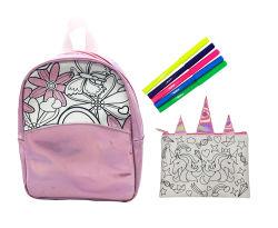 Les enfants cadeau de Noël de jeu de coloriage bricolage sac de jouets des enfants de l'artisanat