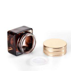 Frasco de vidro jarra de nata de soro Jar Jar Cosméticos Fundação líquidos Fabricação de vidro