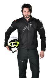 Los hombres chaqueta de moto protectores impermeables ropa al aire libre
