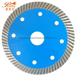 105mm 110 mm 115 mm 125 mm de corte de azulejos de porcelana de la hoja de sierra de diamante Turbo