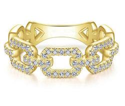 2021 التصميم الجديد Hollow 14K الذهب Plated 925 Sterling Silver مجوهرات حلقية