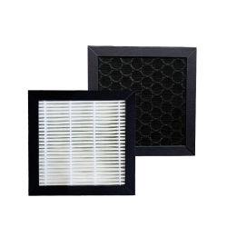 Favo de Alta Eficiência personalizados de composto de carbono activado verdadeiro filtro HEPA para Purificador de Ar