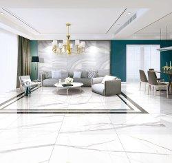 800*800mmは極度のカラーラの白いホーム壁及び床のための装飾によってガラス化された磨く艶をかけられた磁器のタイルにマルチ直面した