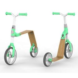 아이 1개의 균형 자전거에 대하여 나무로 되는 스쿠터 자전거 또는 나무로 되는 2